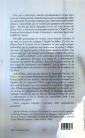 Xavier Niel, l'homme Free - 4ème de couverture - Format classique
