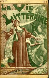 La Date. La Vie Litteraire. - Couverture - Format classique