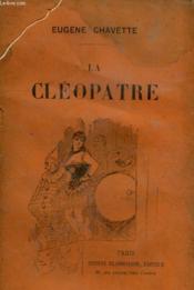 La Cleopatre. - Couverture - Format classique