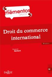 Vente  Droit du commerce international (7e édition)  - Hugues Kenfack