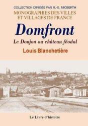 Domfront (Histoire De) - Couverture - Format classique