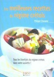 Les meilleures recettes du régime crétois - Intérieur - Format classique