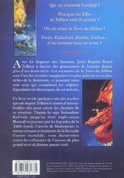 Les Mondes Magiques Du Seigneur Des Anneaux - 4ème de couverture - Format classique