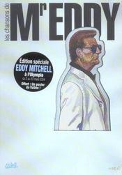 Les chansons de M. Eddy ; coffret - Intérieur - Format classique