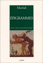 Epigrammes - Couverture - Format classique