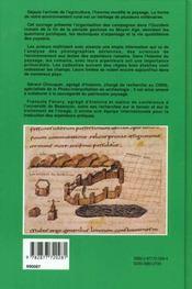 Les Paysages De L'Antiquite - 4ème de couverture - Format classique