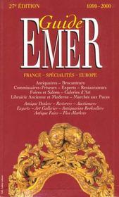 Guide Emer 99-2000 - Intérieur - Format classique
