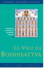 Le voeu du bodhisattva - Couverture - Format classique