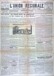 Union Regionale (L') N°1090 du 20/07/1939 - Couverture - Format classique