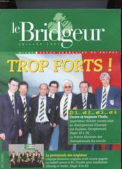 Le Bridgeur N°742 - Trop Forts - Couverture - Format classique