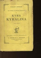 Kyra Kyralina - Couverture - Format classique