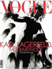 Vente livre :  Vogue special karl lagerfeld. modemethode  - Vogue
