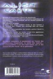 Alien Earth - 4ème de couverture - Format classique
