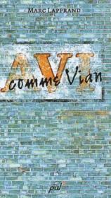V comme Vian - Couverture - Format classique