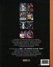 Les Photos Les Plus Foot 2007 - 4ème de couverture - Format classique