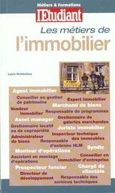 Metiers Et Formations ; L'Immobilier - Intérieur - Format classique