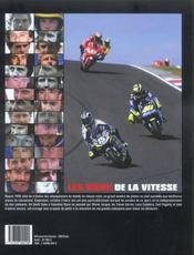 Les Dieux De La Vitesse - 4ème de couverture - Format classique
