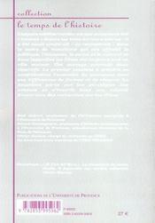 Construire Des Mondes ; Elites Et Espaces En Mediterranee Xvi-Xx Siecles - 4ème de couverture - Format classique