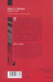 Jupiter et moi - 4ème de couverture - Format classique