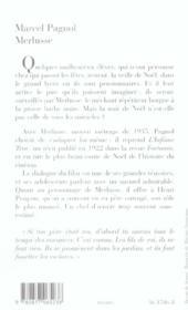 Merlusse - 4ème de couverture - Format classique