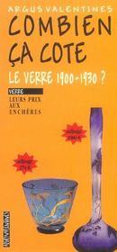 Le Verre 1900-1930 - Intérieur - Format classique