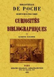 Curiosités bibliographiques - Couverture - Format classique