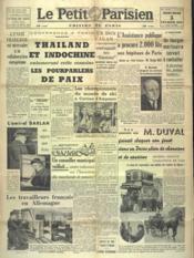 Petit Parisien Edition De Paris (Le) du 05/02/1941 - Couverture - Format classique