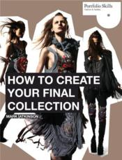 How to create your final collection /anglais - Couverture - Format classique