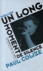 Vente  Un long moment de silence  - Paul Colize