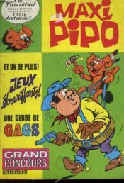 Maxi Pipo - N°20 - Couverture - Format classique