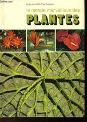 Le Monde Merveilleux Des Plantes - Couverture - Format classique