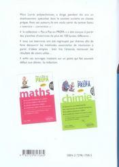 Physique Pcsi Essentiel Du Cours Methodes Solutions Conseils Pour Reussir Son Annee De Prepa - 4ème de couverture - Format classique