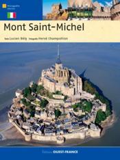 Le mont-saint-michel ; édition italienne - Couverture - Format classique