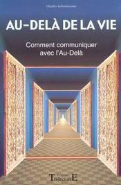 Au-Dela De La Vie - Communiquer Au-Dela - Intérieur - Format classique