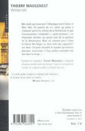 Venise Net - 4ème de couverture - Format classique