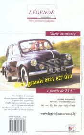 Le guide du collectionneur auto (édition 2006) - 4ème de couverture - Format classique