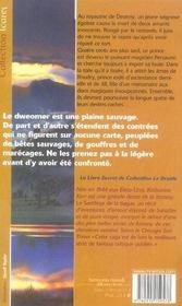 Cycle De Deverry 1 - Sortilege De La Dague (Le) - 4ème de couverture - Format classique