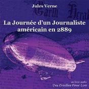 La journée d'un journaliste américain en 2889 - Couverture - Format classique