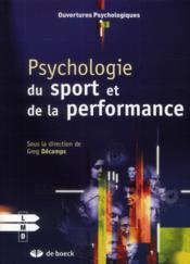 Vente  Psychologie du sport et de la performance  - Greg Decamps