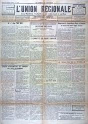 Union Regionale (L') N°1092 du 03/08/1939 - Couverture - Format classique
