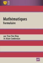 Mathématiques ; formulaire (6e édition) - Couverture - Format classique