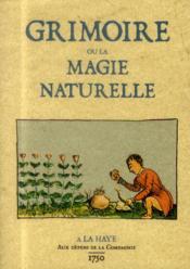 Grimoire ou la magie naturelle - Couverture - Format classique