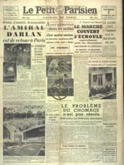 Petit Parisien Edition De Paris (Le) du 07/02/1941 - Couverture - Format classique