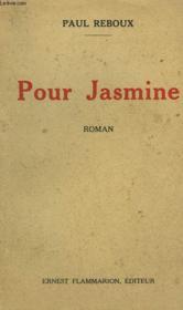 Pour Jasmine. - Couverture - Format classique