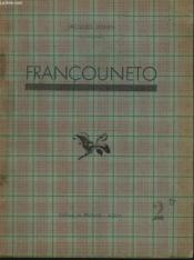 Francouneto - Couverture - Format classique