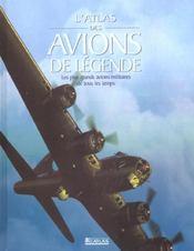 Atlas Des Avions De Legende - Intérieur - Format classique