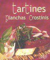 Tartines, planchas, crostinis - Intérieur - Format classique