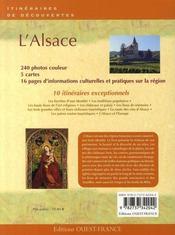 L'Alsace - 4ème de couverture - Format classique