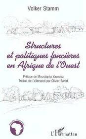 Structures Et Politiques Foncieres En Afrique De L'Ouest - Intérieur - Format classique