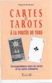 Cartes Et Tarots A La Portee De Tous - Intérieur - Format classique